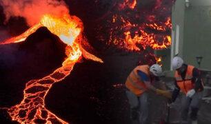 """España: Volcán """"Cumbre Vieja"""" cumple su cuarta semana de erupción"""