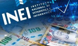 INEI: economía peruana creció un 11.83% en el mes de agosto