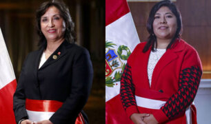 """Ministras Dina Boluarte y Betssy Chávez: """"No nos amedrenta amenaza de expulsión"""""""