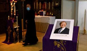 "Reino Unido: asesinato de diputado David Amess fue calificado como un ""incidente terrorista"""