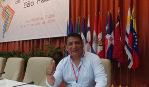 """Richard Rojas: nuevo embajador de Perú en Caracas afirma que """"Venezuela es democrática"""""""