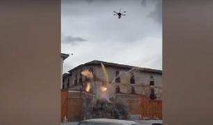 Cusco: impactantes escenas de acción durante el rodaje de Transformers