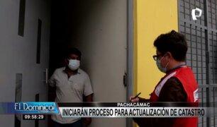 Pachacamac: realizarán censo de viviendas para actualizar catastro urbano del distrito