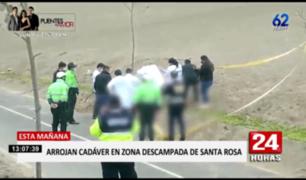 Santa Rosa: arrojan cadáver con impactos de bala en descampado