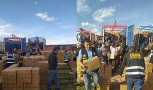 Mercadería de contrabando valorizada en más de dos millones de soles fue decomisada en Puno