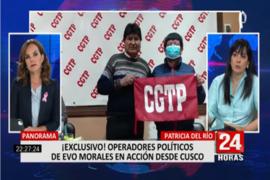 """Patricia del Río sobre Pedro Casillo: """"No tiene problemas en traicionar ni siquiera a los propios maestros"""""""