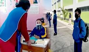 Tacna reactiva clases presenciales en colegios particulares