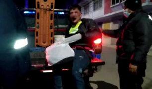 Juliaca: golpean e intentan linchar a extranjero que fue encontrado robando