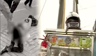 La Victoria: policía de civil frustra asalto y hiere a delincuente
