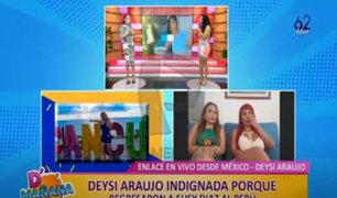 Picantitas del Espectáculo: todos los detalles de la intervención a Susy Díaz en aeropuerto mexicano