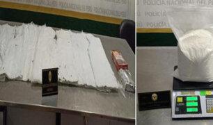 Callao: capturan burriers con 15 kilos de cocaína camuflada en casacas, chalecos y alimentos