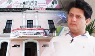 Julio Chávez se pronuncia por presunto  intento de fraude en elecciones de Acción Popular
