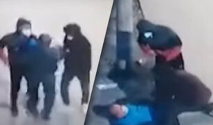 Sujeto se enfrenta a ladrones armados con solo una piedra