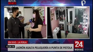 Callao: encañonan a dueña y asaltan peluquería en La Perla