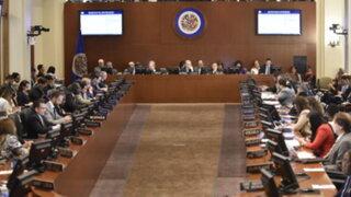 OEA exige inmediata liberación de candidatos presidenciales y presos políticos en Nicaragua