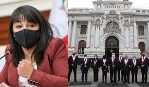 Renovación Popular pidió a Mirtha Vásquez la renuncia del ministro del Interior y de Educación