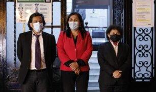 Partido Morado anuncia que otorgará el voto de confianza al Gabinete de Mirtha Vásquez