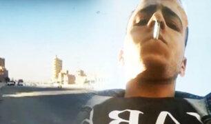 Ladrón roba teléfono a reportero durante cobertura en vivo y transmite su cara