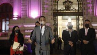 Gabinete Vásquez: Acción Popular anunció que votará en bloque sobre voto de confianza