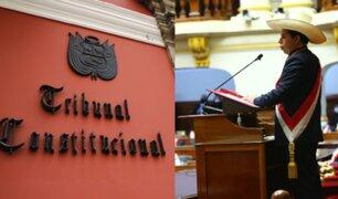 Gobierno presentó demanda de inconstitucionalidad al TC por cuestión de confianza