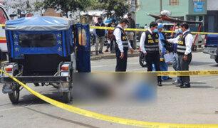 Conductor de mototaxi embiste y mata a joven repartidor en Surco