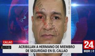 Callao: acribillan a policía en la puerta de su vivienda