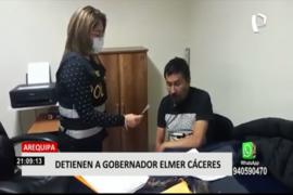 Arequipa: intervienen a gobernador regional por integrar presunta organización criminal