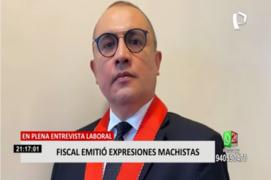 Fiscal de la nación se pronunció por preguntas machistas a aspirante en Ministerio Público de Arequipa