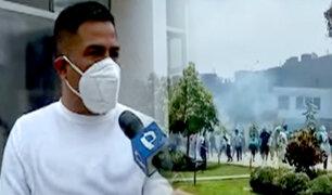 Rímac: barristas implicados en enfrentamiento provendrían de otros distritos
