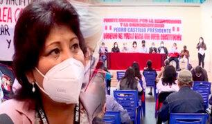 Fenatep Perú anuncia movilización a favor de Pedro Castillo y el gabinete liderado por Vásquez