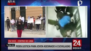 Familia pide justicia para joven asesinado por vestir camiseta de Alianza Lima