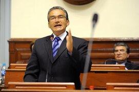 Aguinaga adelanta que Fuerza Popular no le dará el voto de confianza a premier Mirtha Vásquez