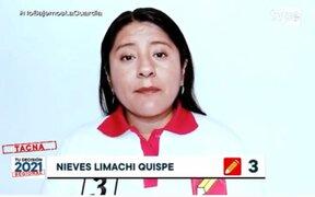 Nieves Limachi jurará como congresista tras fallecimiento de parlamentario Fernando Herrera