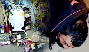 SJM: a balazos frustran robo de mercadería valorizada en más de S/.8,000