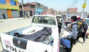 Carretilla de construcción cae de tercer piso de vivienda y mata a transeúnte en Tarma
