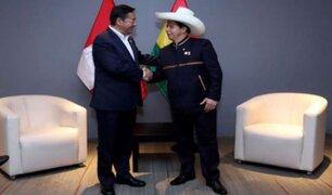 Oficializan autorización de viaje del presidente Castillo a Bolivia