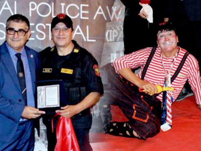 Premian a peruano por tercera vez como el 'mejor policía del mundo' en Italia