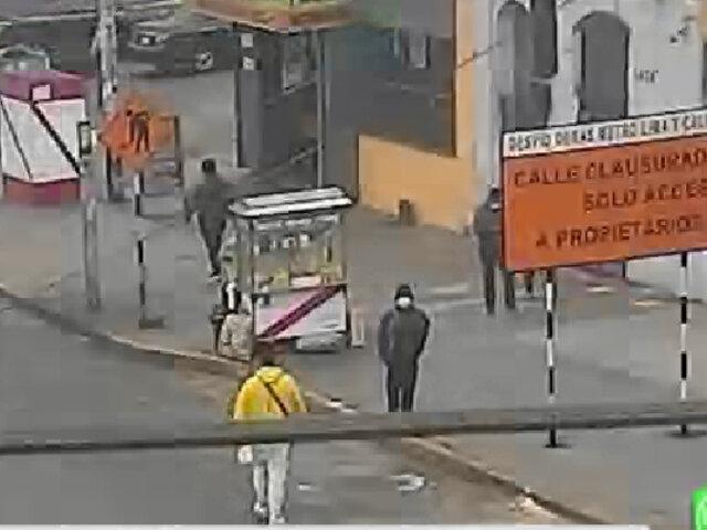 La Victoria: hombre lucha por su vida tras recibir disparo en la cabeza