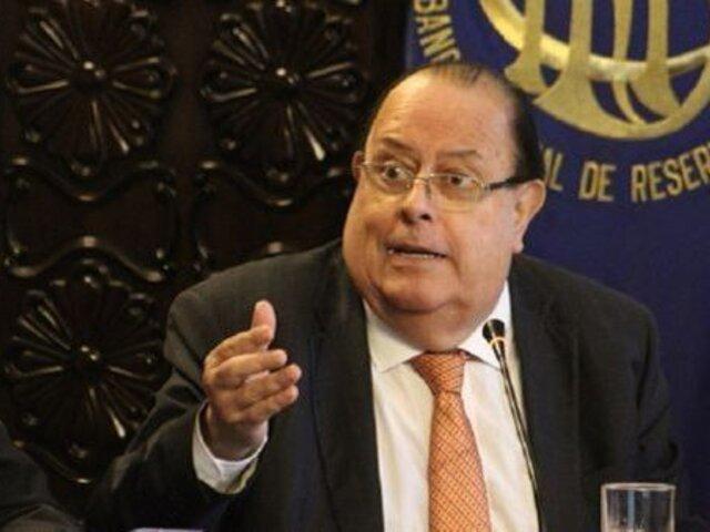 Velarde: anuncio de Castillo sobre Camisea haría que expectativas empresariales no mejoren