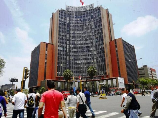 Corte de Lima: fijan trabajo presencial interdiario de 08:00 a 17:00 horas