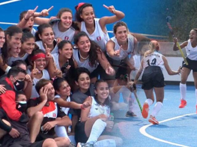 Orgullo peruano: Selección Femenina de Hockey consiguió el oro en el Panam Challenge 2021