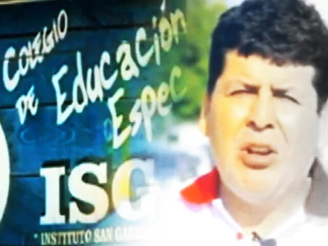 ¡Exclusivo! El colegio fantasma del viceministro PCM Braulio Grajeda
