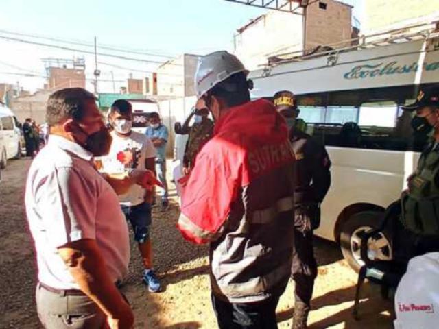 Lambayeque: clausuran dos locales clandestinos que funcionaban como terminales informales