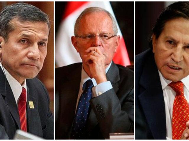 Ollanta Humala: Alejandro Toledo y PPK serán testigos en juicio a expresidente