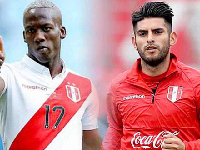Luis Advíncula y Carlos Zambrano llegaron para unirse a los entrenamientos