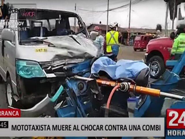 Ola de accidentes de tránsito en el interior del país