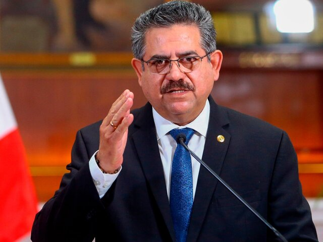 Fiscal de la Nación presentó denuncia constitucional contra Manuel Merino por muertes de Inti Sotelo y Bryan Pintado
