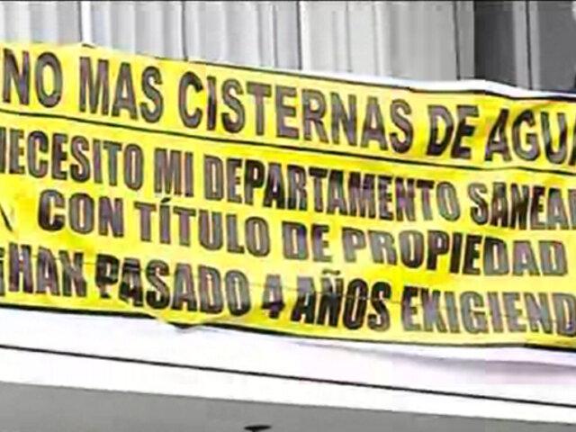 Cercado de Lima: 124 familias no tienen título de propiedad desde que compraron departamento