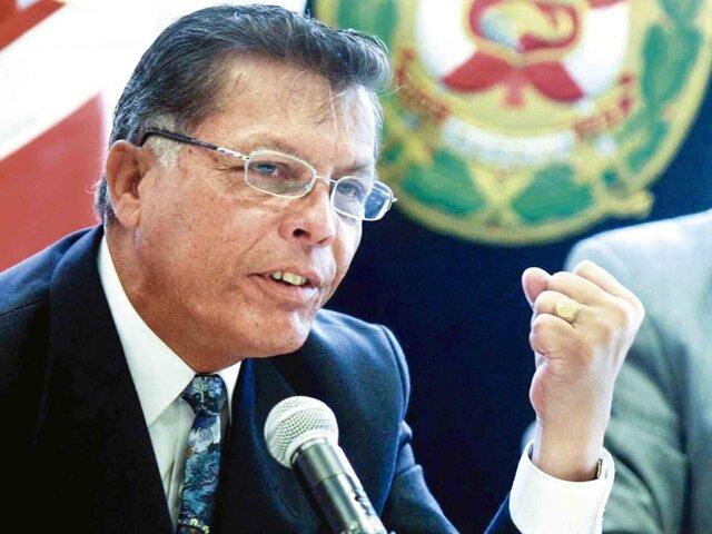 """Raúl Pérez Rocha sobre declaraciones de Juan Carrasco: """"No hay personal de asesoramiento en el Mininter"""""""