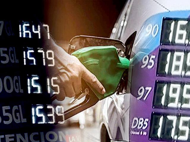 Precios de los combustibles aumentan en diversos puntos de la capital